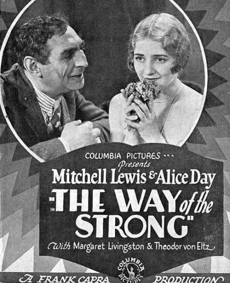 Alice-Day-in-The-Way-of-the-Strong-director-Frank-Capra-1928-poster