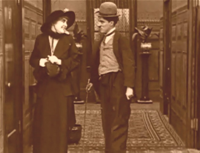 Edna-Purviance-and-Charlie-Chaplin-in-A-Night-Out-1915-3