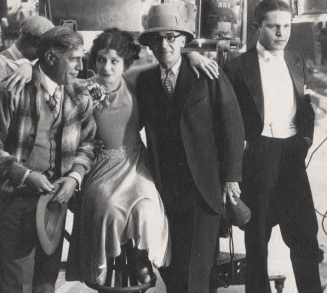 Marceline-Day-and-Mack-Sennett-and-John-M-Stahl-and-Malcolm-McGregor-The-Gay-Deceiver-1926